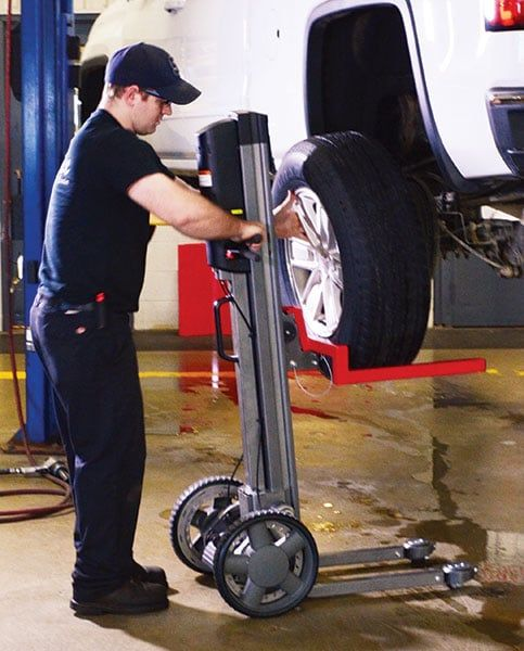 LiftPlus™ Install Tires