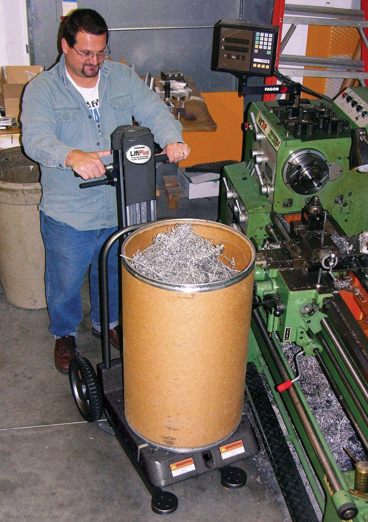 LiftPlus™ with Scrap Barrel